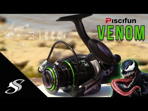 Piscifun Venom Spinning Reel Unboxing