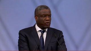 Le discours du Docteur Denis Mukwege lors de la cérémonie du Prix Nobel de la Paix 2018 à Oslo