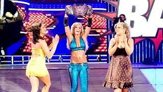 Michelle McCool wins the inaugural Divas Championship