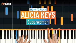 """Superwoman"" by Alicia Keys 