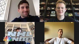 Zdeno Chára, Brady Tkachuk, John Tavares, Dylan Larkin talk time away from NHL | NBC Sports