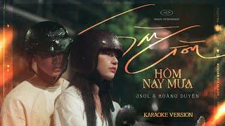 (Karaoke) SÀI GÒN HÔM NAY MƯA - JSOL & HOÀNG DUYÊN
