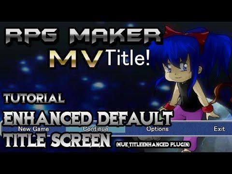 Awesome custom title screen plugin! - UPPTitlePlus (RPG