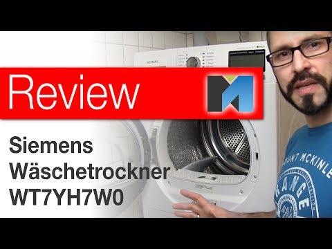 Review: Siemens IQ800 Wärmepumpentrockner WT7YH7W0 [deutsch]