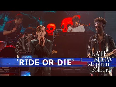 The Knocks Ft. Foster The People Perform 'Ride Or Die' - The Late Show With Stephen Colbert