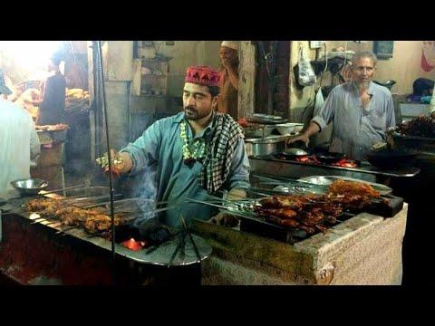 Fuwara Chowk Food Street, Saddar Cantt Peshawar   Pakistan Street Food Peshawar