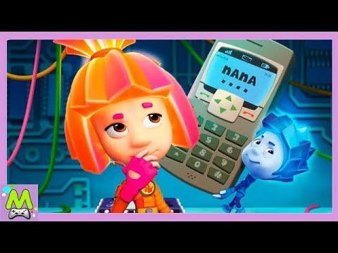 Детский уголок/Kids'Corner Фиксики и Сотовый Телефон.Куда Пропали Папус и Мася?Мульт Книжка