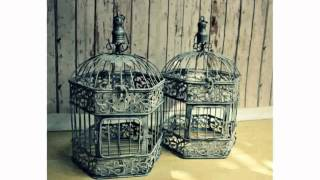 Antique Bird Cages for Weddings