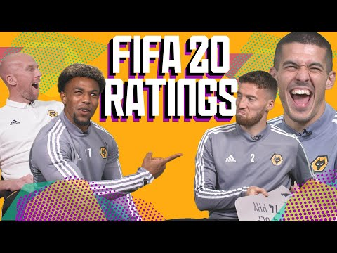 WOLVES REACT TO THEIR FIFA 20 RATINGS   Traore, Coady, Doherty & Ruddy guess their stats! 😂