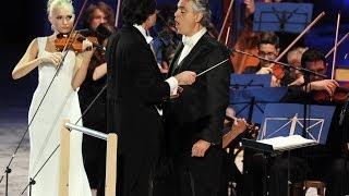 Andrea Bocelli - Anastasiya Petryshak Panis Angelicus (César Franck)