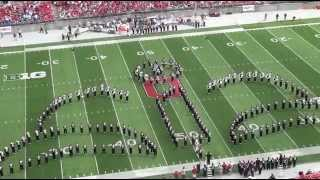 [Ohio State Marching Band  Movie Toons  Halftime Show ] Funny Videos