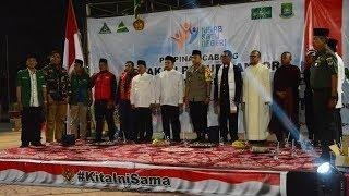 Wahidin Halim Hadiri Penggalangan Dana GP Ansor dan Tokoh Lintas Agama