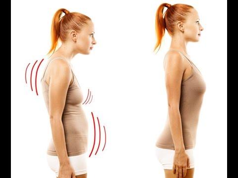 Роль физических упражнений в осанки