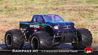 Redcat Rampage MT V3 1/5 Scale Gas Powered RC Monster Truck