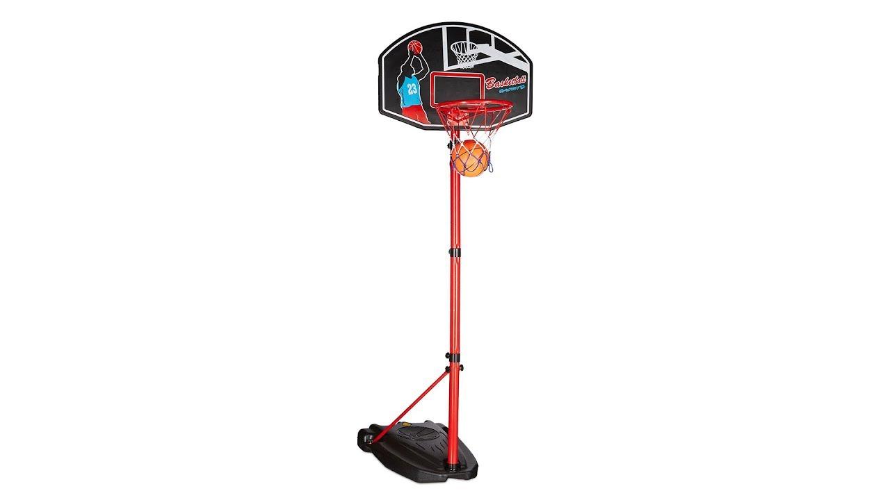Video von: Basketballkorb mit Ständer 2,40 m