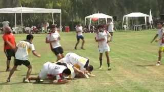 preview picture of video '2013 04 27 Rugby Pre-seleccion M-18 vs MRA 2do T (3-3)'