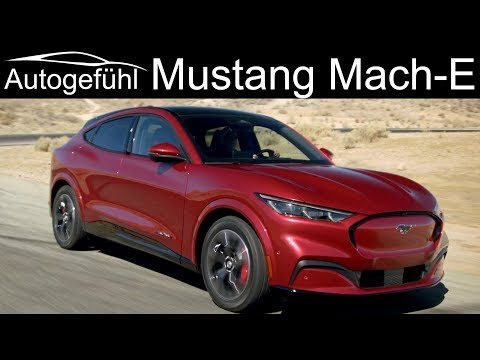 Ford Mustang Mach-E key facts - EV SUV yes, but calling it Mustang?  Autogefühl