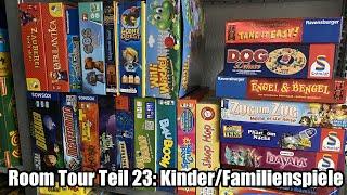 Room Tour Teil 23: Noch mehr Kinder- und Familienspiele ... weitere Top Titel dabei