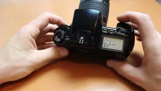 Canon Eos 100- Bedienungsanleitung analoge Spiegelreflexkamera