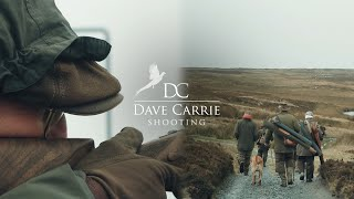 Dave Carrie, shooting grouse on the Moor