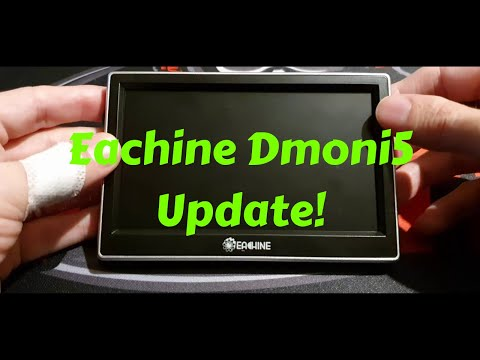 Eachine D-moni5 FPV Monitor Update