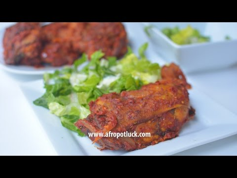 Chicken Recipes – How To Make Spicy Peppered Chicken | Afropotluck