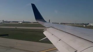 United Airlines Boeing 757-300 Takeoff from Chicago-O'Hare