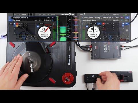 Numark PT01 Scratch Raiden & Stokyo Fader Review & DVS Set Up