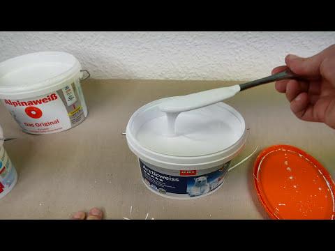 Wie gut ist Schnäppchen-Wandfarbe aus dem Baumarkt? I TEST 2017 [4K]