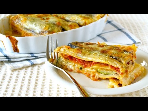 How to Make Healthy Lasagna using Vegetarian Meat Sauce (Recipe) ベジタリアンミートソースを使ったヘルシーなラザニアの作り方 (レシピ)