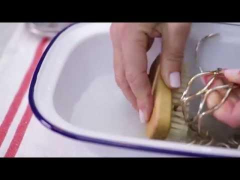 Come pulire i gioielli in oro e in argento