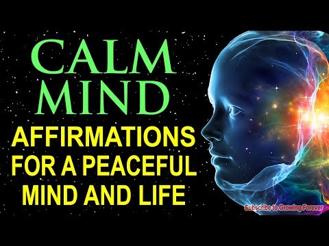 RELAX & CALM YOUR MIND: Relaxing Music & Affirmations, Relieve Anxiety & Reduce Stress, RELAXATION