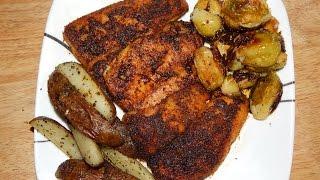 Blackened Fish Recipe - Cajun Blackened Fish