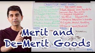 Y1/IB 24) Merit and De-Merit Goods - Imperfect Information