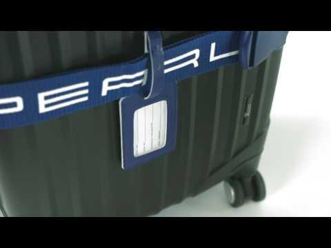 PEARL 2 stabile Gepäck- & Koffergurte (5 x 200 cm) mit 2 Kofferanhängern
