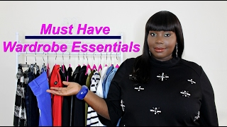 Plus Size Fashion: Wardrobe Essentials Every Plus Woman Should Have In Her Closet (Try On)