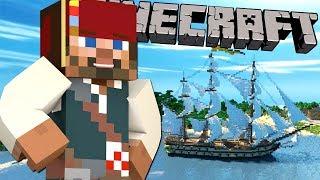 ИЩЕМ ПИРАТСКИЕ СОКРОВИЩА в МАЙНКРАФТ!! Морское обновление в Minecraft PE!