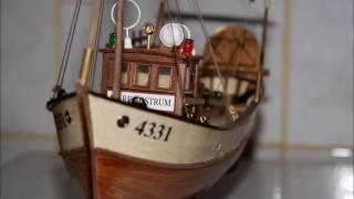 Mare nostrum модель рыболовного траулера