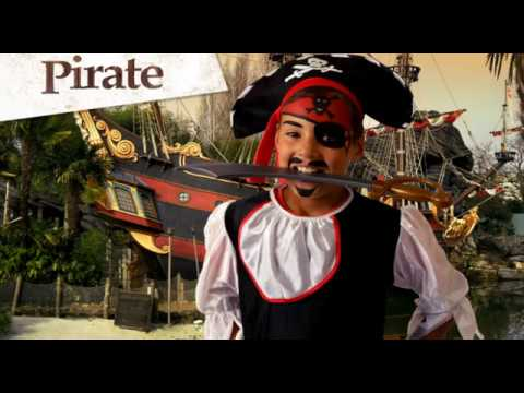 Kids Pirate Face Paint Tutorial