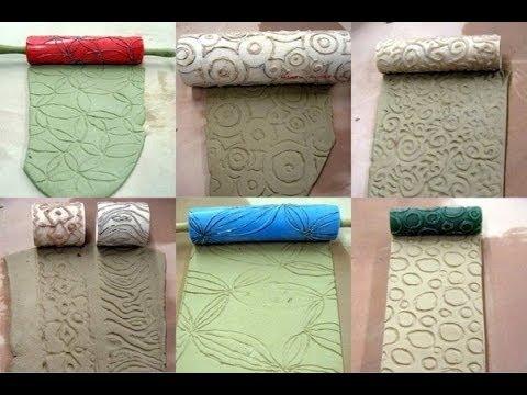 Textura com rolo