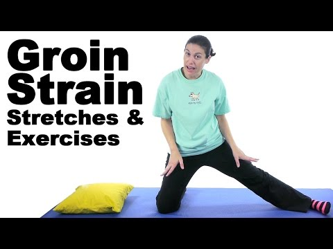 Video Groin Strain Stretches & Exercises - Ask Doctor Jo