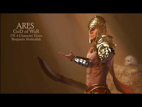 UE4] Ares God of War — polycount