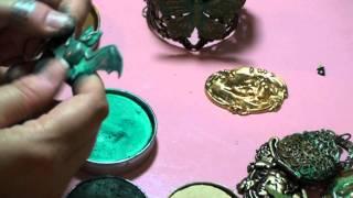 Gilders Paste On Metal Jewelry.mpg