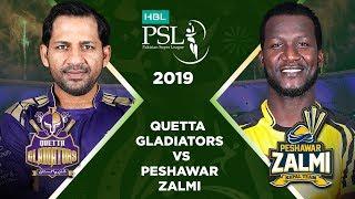 Match 31: 1st Qualifier Full Match Highlights Quetta Gladiators Vs Peshawar Zalmi   HBL PSL 2019