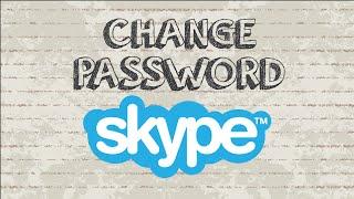 How to change Skype password | Mobile App
