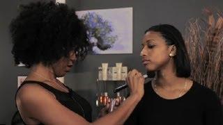 African-American, Oblong Face Makeup Tricks : Makeup Tutorials