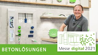 Betonlösungen von Spelsberg: Digitaler Messestand