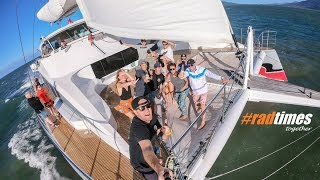 #radtimes sailing aboard Passions of Paradise