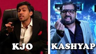 Karan Johar Vs Anurag Kashyap Rap Battle  Shudh Desi Raps