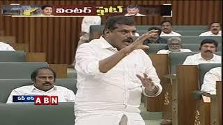 Chandrababu Naidu Vs YCP Leaders in AP Assembly on AP Capital | ABN Telugu